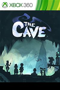 The Cave Xbox 360 Box Art