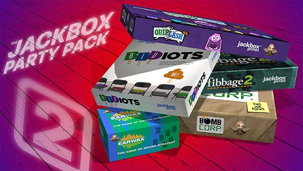 Now Available on Xbox One - The Jackbox Party Pack 2
