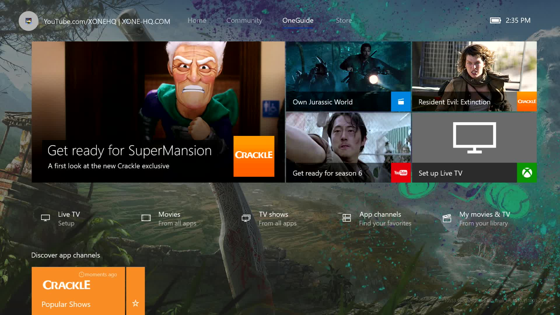 The New Xbox One Experience Launches Nov. 12 - Over 100 Xbox 360 Games Playable - XboxOne-HQ.COM