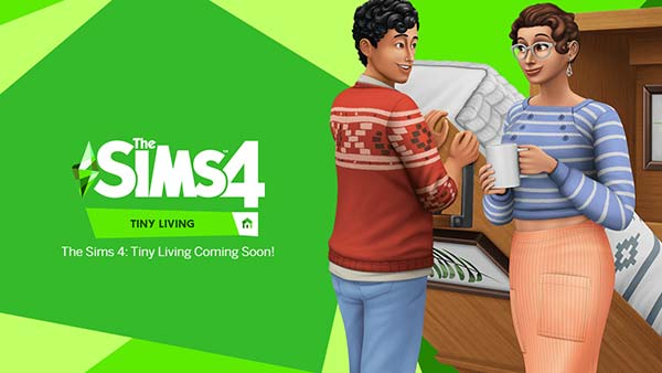 The Sims 4 Tiny Living DLC