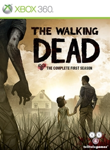 The Walking Dead Xbox 360 Box Art