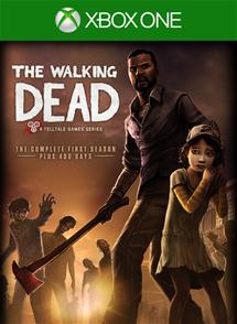The Walking Dead Xbox One Box Art