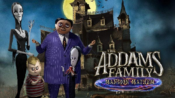 The Addams Family: Mansion Mayhem arrives this Halloween