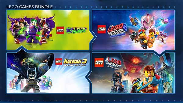 The Lego Games Bundle