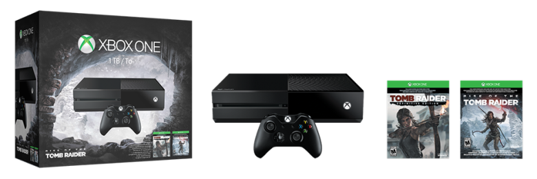 Tomb Raider Xbox One Bundle