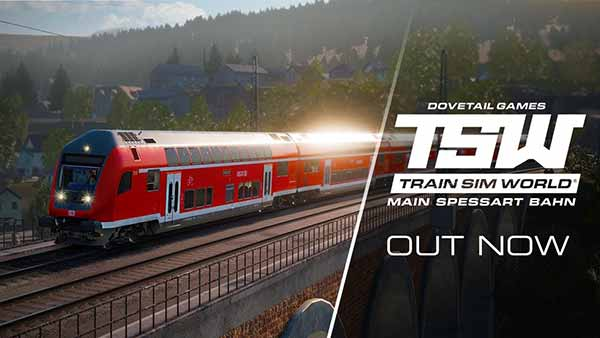 Train Sim World: Main-Spessart Bahn DLC is available now on XBOX ONE, PS4 and PC