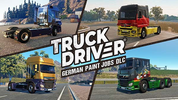 SOEDESCO brings Oktoberfest to Truck Driver with 'German Paint Jobs' DLC on Xbox One, PS4 and Switch