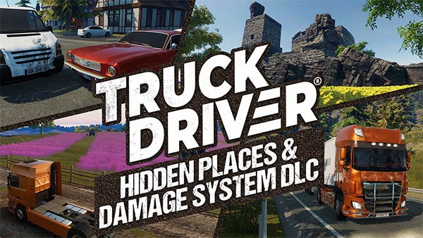 Truck Driver Hidden Places & Damage System DLC is available for free on Xbox One and PlayStation 4 today!
