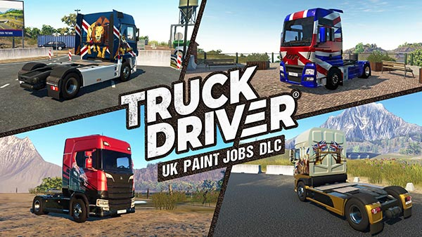 Truck Driver UK Paint Jobs DLC