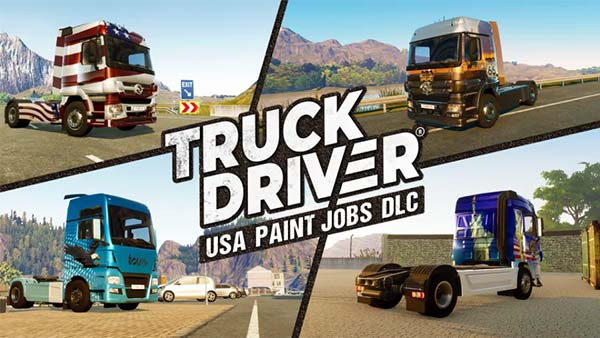 Truck Driver USA Paint Jobs DLC
