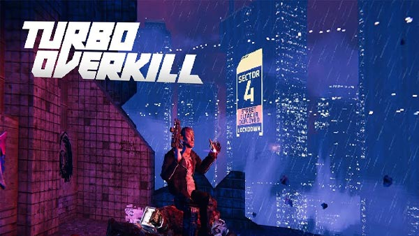 """Brutal Cyberpunk FPS """"Turbo Overkill"""" coming to Xbox, PlayStation, Switch and PC in 2022!"""