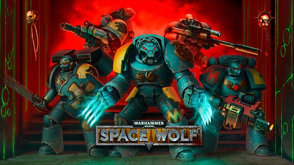 Turn-based tactical strategy Warhammer 40,000: Space Wolf is now available to pre-order