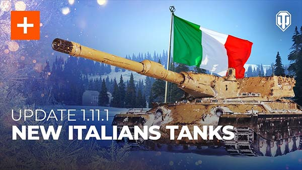 World of Tanks Update 1.11.1 Adds New Sub-branch Of Italian Heavy Tanks And More