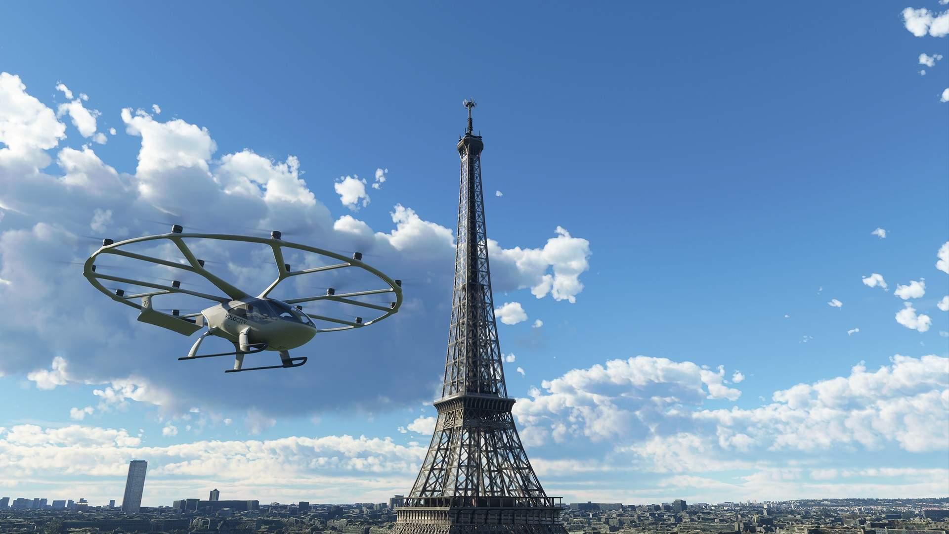 Microsoft Flight Simulator - VoloCity Air Taxi