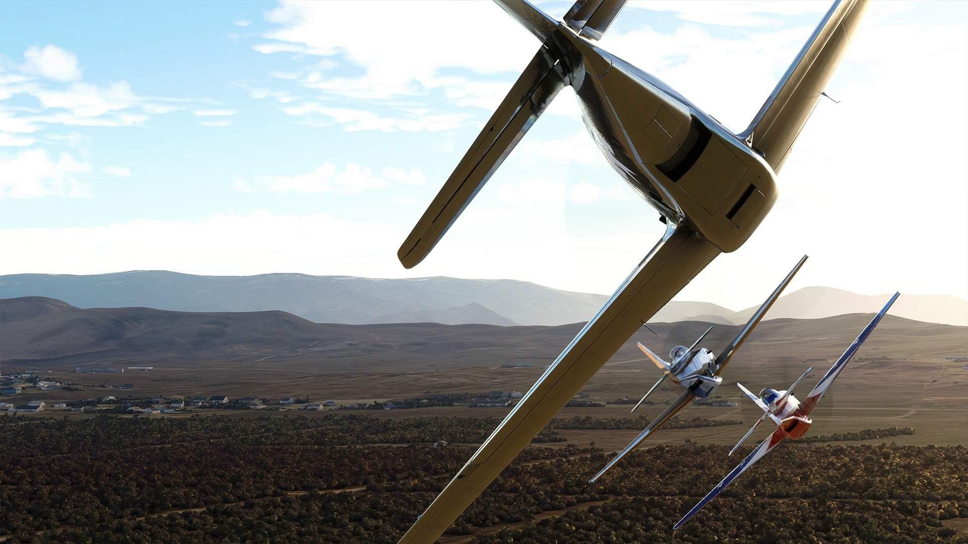 Microsoft Flight Simulator - Reno Air Races