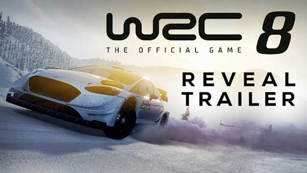 WRC 8 announced for XBOX One, PS4, Switch, and PC