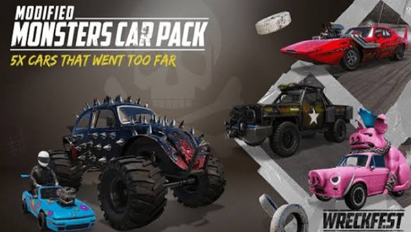 Wreckfest Holiday Update and Modified Monsters Car Pack is out today