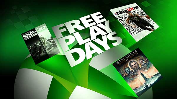 Free Play Days: Tom Clancy's Rainbow Six Siege, NBA 2K19, And Stellaris: Console Edition
