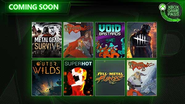 Xbox Game Pass May/June 2019