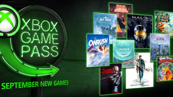 Xbox Game Pass September