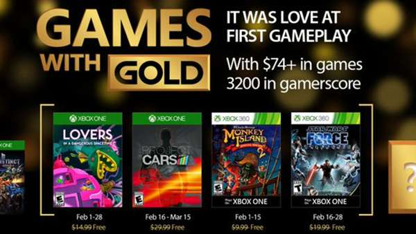Xbox Live Games With Gold For February 2017