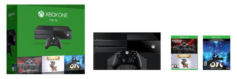 Xbox One 1TB Holiday Bundle