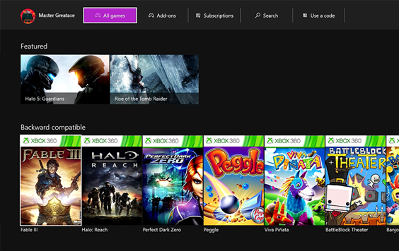 Xbox One Dashboard Preview Update March 2016
