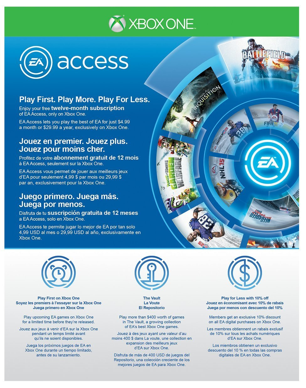 Xbox One EA Access