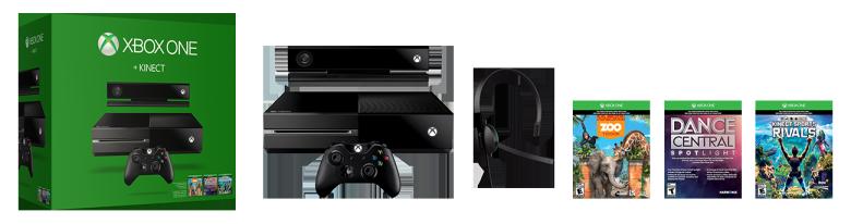 Xbox One Kinect Bundle