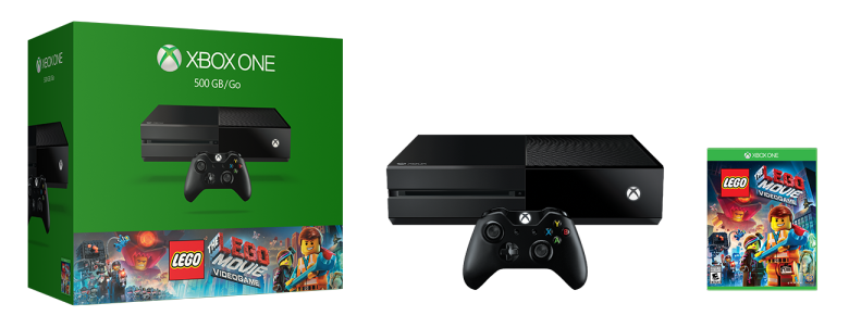 Xbox One The LEGO Movie Videogame Bundle