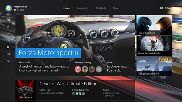 New Xbox One Experience Rolling Out Now