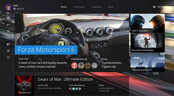 The New Xbox Experience (November 2015)