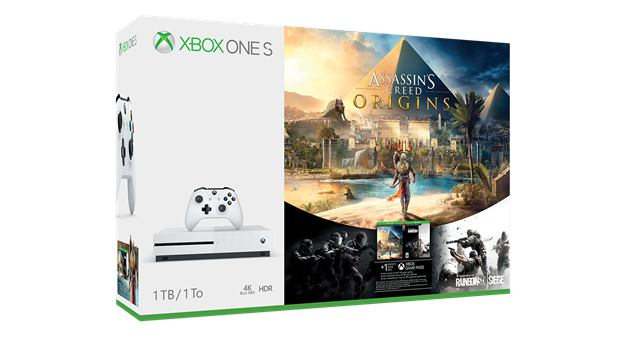 Xbox One S Assassin's Creed Origins Bundles Launch October 27