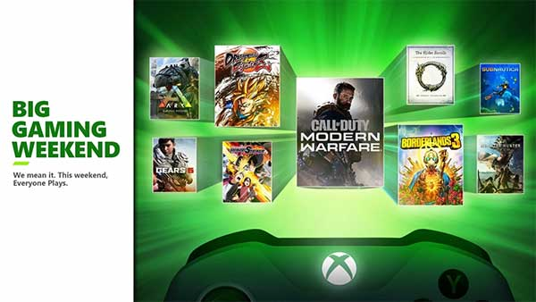 Xbox Live Multiplayer is FREE on Xbox One this weekend!