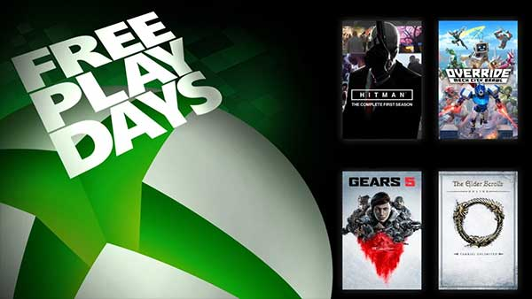 Free Play Days: Gears 5, Override, Hitman: The Complete First Season & ESO Online Tamriel Unlimited (Apr 9-12)