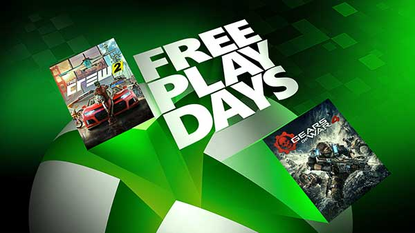 Free Play Days: Gears Of War 4 And The Crew 2 Standard Edition