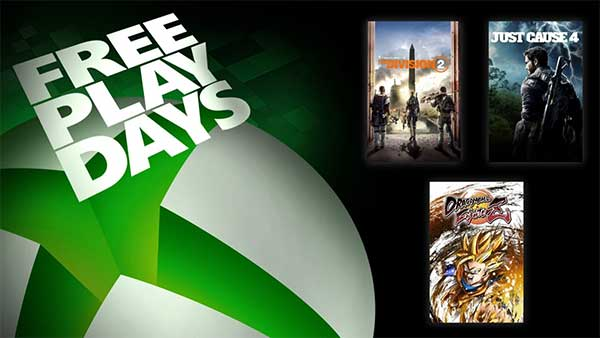 Xbox Free Play Days