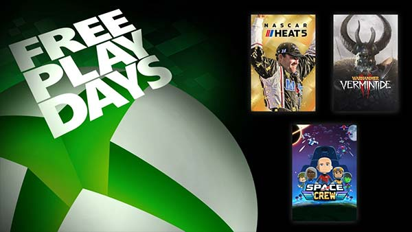 Free Play Days: Play NASCAR Heat 5, Warhammer: Vermintide 2, and Space Crew For Free This Weekend