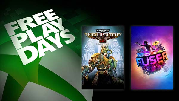 Free Play Days: Fuser and Warhammer 40,000: Inquisitor Martyr this week (Feb 18-21)