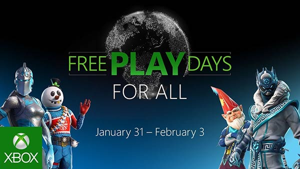 Xbox Free Play Days: Enjoy free multiplayer on Xbox Jan. 31 to Feb. 3