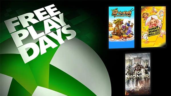 Xbox Free Play Days July 15, 2021