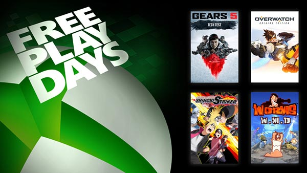 Free Play Days: Gears 5 Tech Test, Overwatch, Naruto To Boruto: Shinobi Striker, and Worms W.M.D