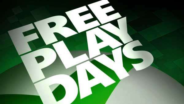 Xbox Free Play Days (August 27-30)