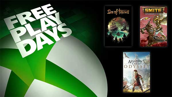 Xbox Free Play Days March 19-22