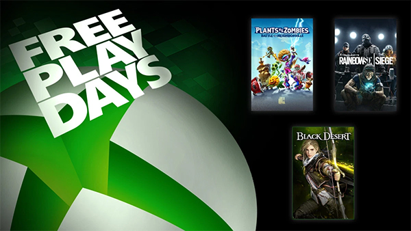 Xbox Free Play Days March 5-8