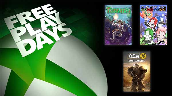 Xbox Free Play Days: Fallout 76: Wastelanders, Terraria & Castle Crashers Remastered (May 14-17)