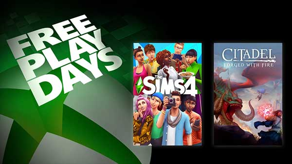 Xbox Free Play Days: Play The Sims 4 & Citadel: Forged With Fire This Weekend