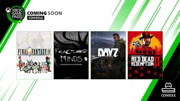 Red Dead Redemption 2, Day Z, Final Fantasy IX, and more coming to Xbox Game Pass for Console