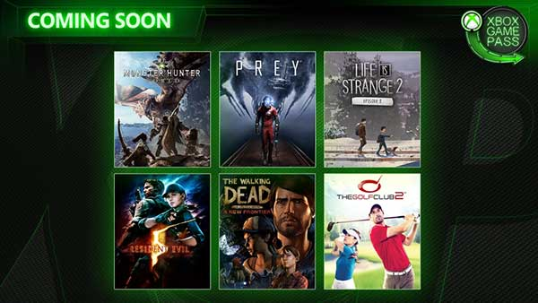 Xbox Game Pass: Monster Hunter World, Prey, Resident Evil 5 And More Are Coming Soon To Game Pass