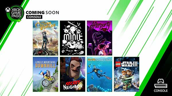 New Games Coming to Xbox Game Pass for Console